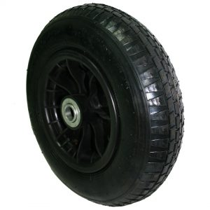 Wheelbarrow wheel black