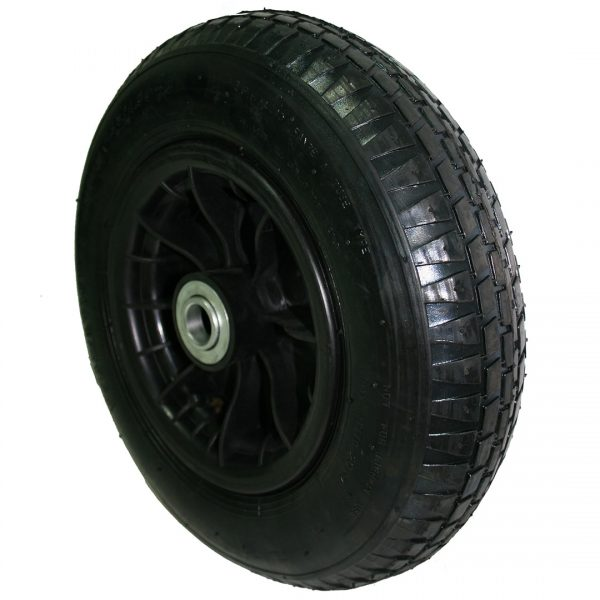 Wheelbarrow wheel black