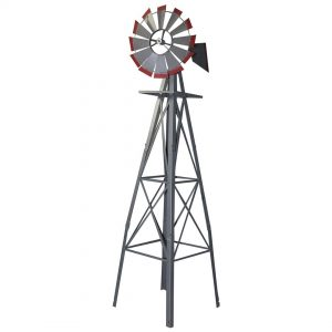 Garden Ornamental Windmill 2400mm 8ft