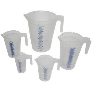 5 Piece Measuring Jug Set