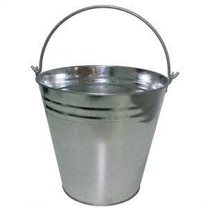 15 Litre Galvanised Bucket Pack (10 PACK)