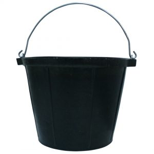 Rubber Bucket 10 Litre 3 pack
