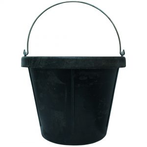 Rubber Bucket 20 Litre 3 pack