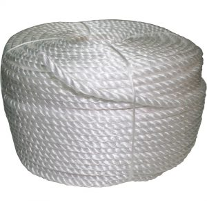 Silver Mono Poly Rope 6mm x 120M