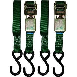 Ratchet Straps 2 Piece 25mm x 4.5 Metres